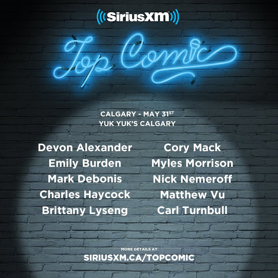 SiriusXM Top Comic